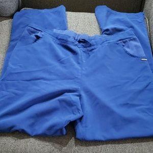 5 pockets Jockey scrub bottom..royal blue